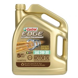 Castrol 03087 EDGE Extended Performance Synthetic Motor Oil