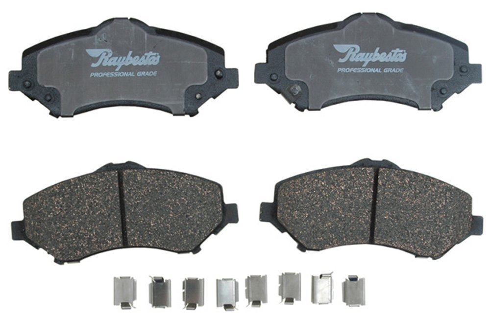 ceramic or semi metallic brake pads
