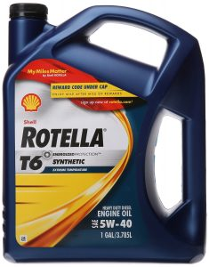 Shell Rotella (550019921) Diesel Engine Oil