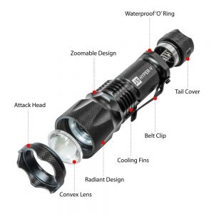 J5 Hyper V Tactical Flashlight Review