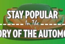 History of Automobile Banner