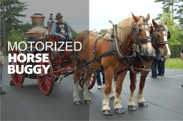 Motorized Horse Buggy