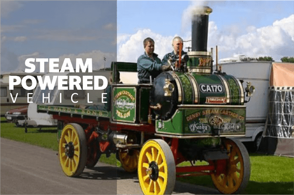 Steam Powered Vehicle