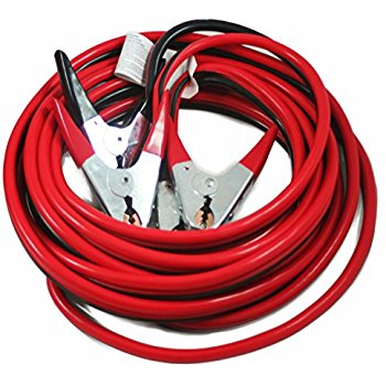 Cartman Booster Car Jumper Cables 10 Gauge 12 Feet