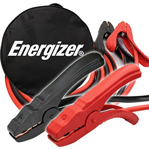 Energizer 4-Gauge Jumper Battery Cables 16 Ft Booster