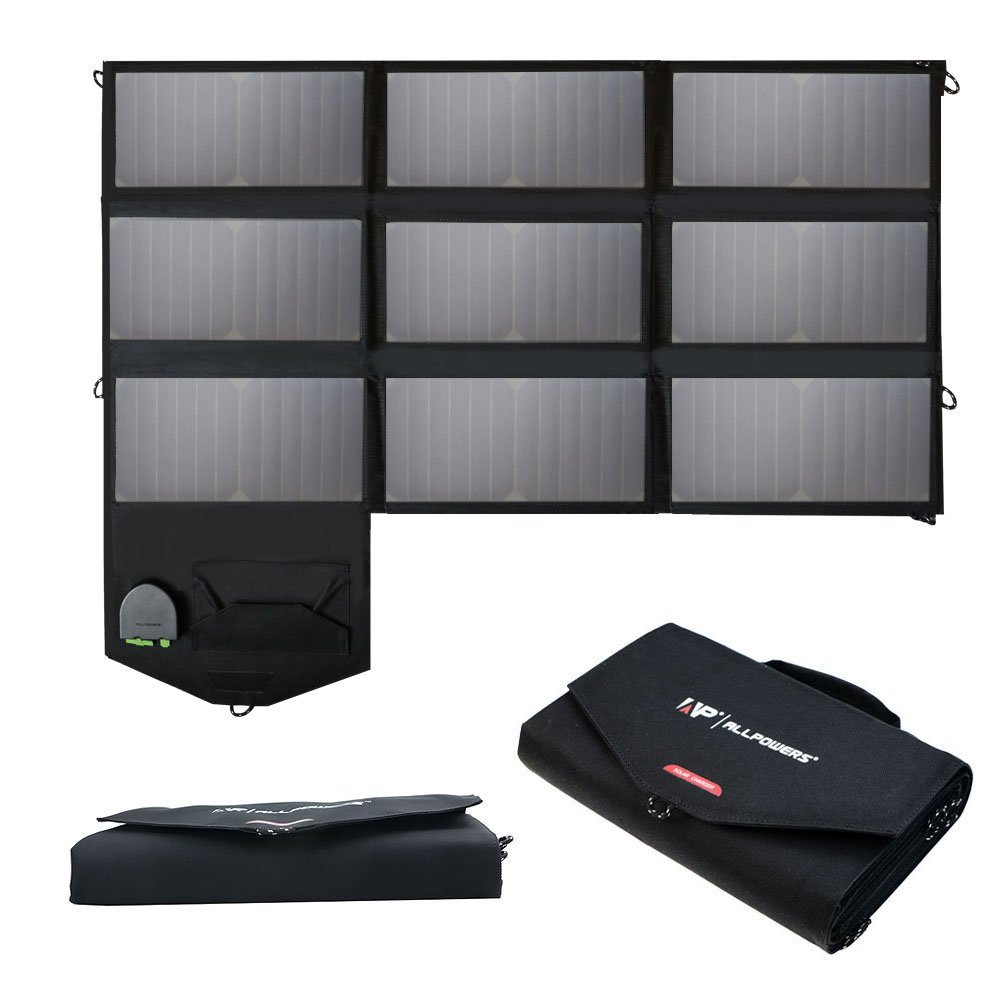 All Powers 60W Foldable Sun Power Solar Panel