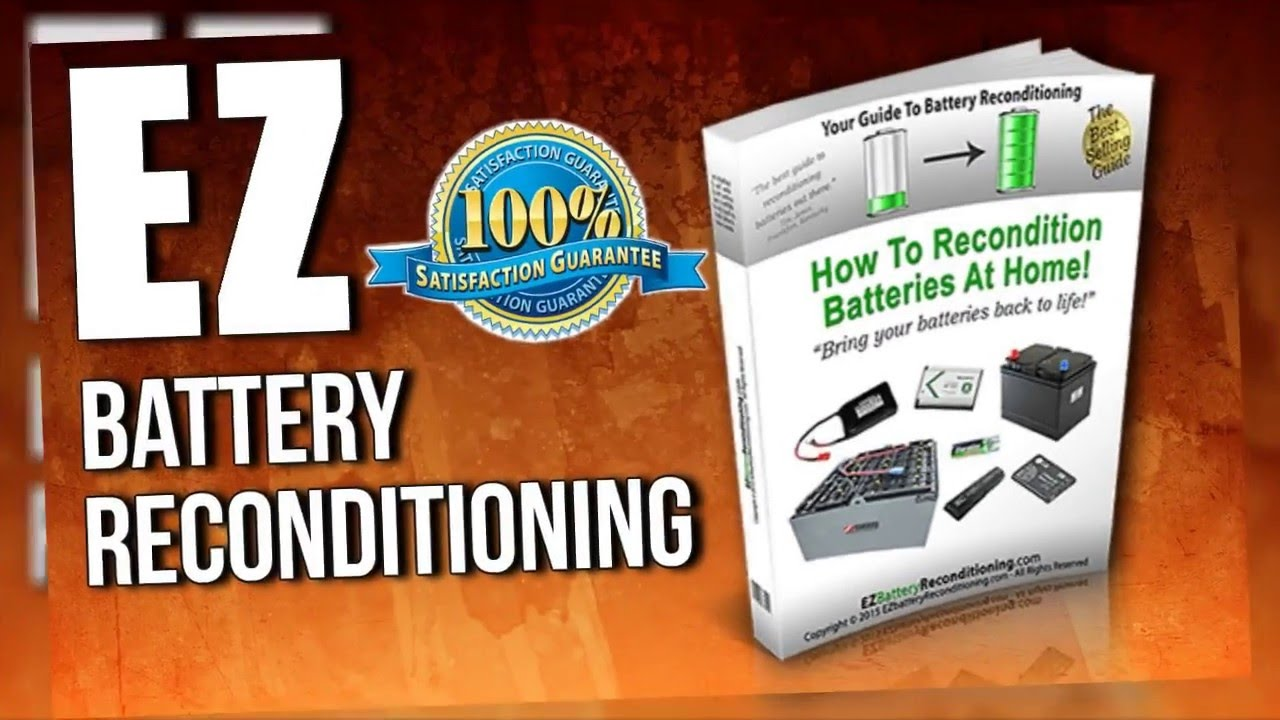 Bringing Dead Batteries Back To Life : EZ Battery Reconditioning Course By Tom Ericson