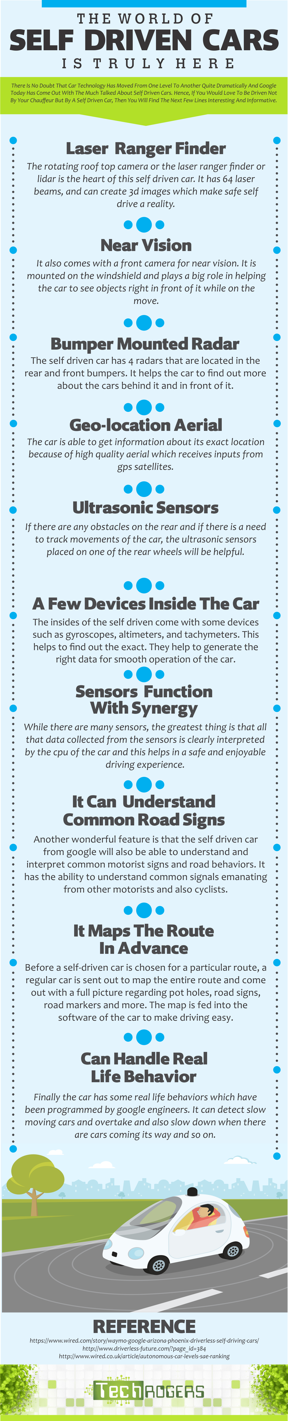 The World Of Self Driven Cars