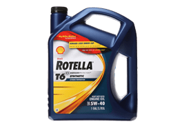 Rotella T6 – Full Synthetic Motor Oil For Older Engines