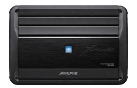 Alpine Compact Car Amplifier For Bass