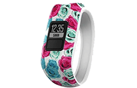 Garmin Vivofit JR. Real Flower – Top Pedometer For Kids