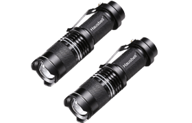 Hausbell 7W Ultra Bright Tactical Flashlight Review
