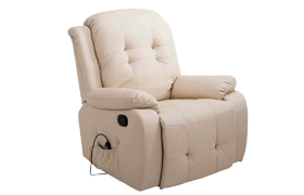 Homcom PU Leather Heated Vibrating Massage Recliner Chair Review