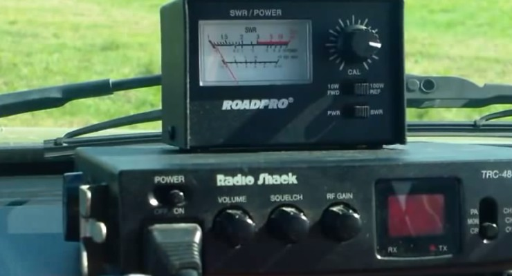 can you tune a cb without a swr meter