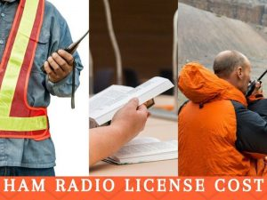 how much does a ham radio license cost