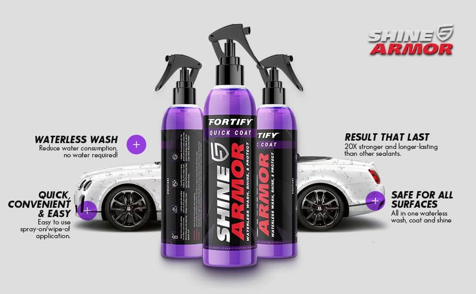 shine armor car wax
